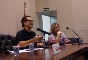 Mario Cesar Carvalho defendeu a publicação de informações sigilosas pela imprensa (Crédito: Amanda Massuela)