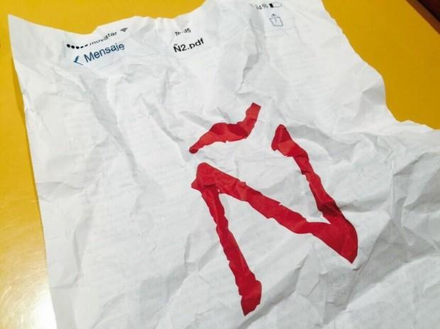 """Foto """"vintage"""" do logo do projeto """"El Español"""", que arrecadou R$ 11 mi (Crédito: Reprodução/Twitter/@elespanolcom)"""