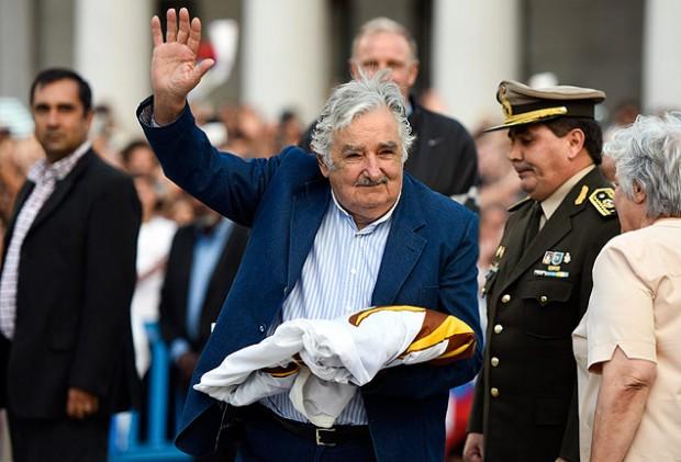 """O ex-presidente uruguaio José Mujica, que foi tema do livro """"Mujica - a revolução tranquila"""", de Mauricio Rabuffetti"""
