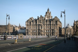 Cidade de Edimburgo, capital da Escócia, onde o Future News 2015 será realizado. (Crédito: Marcio Nel Cimatti/Folhapress)