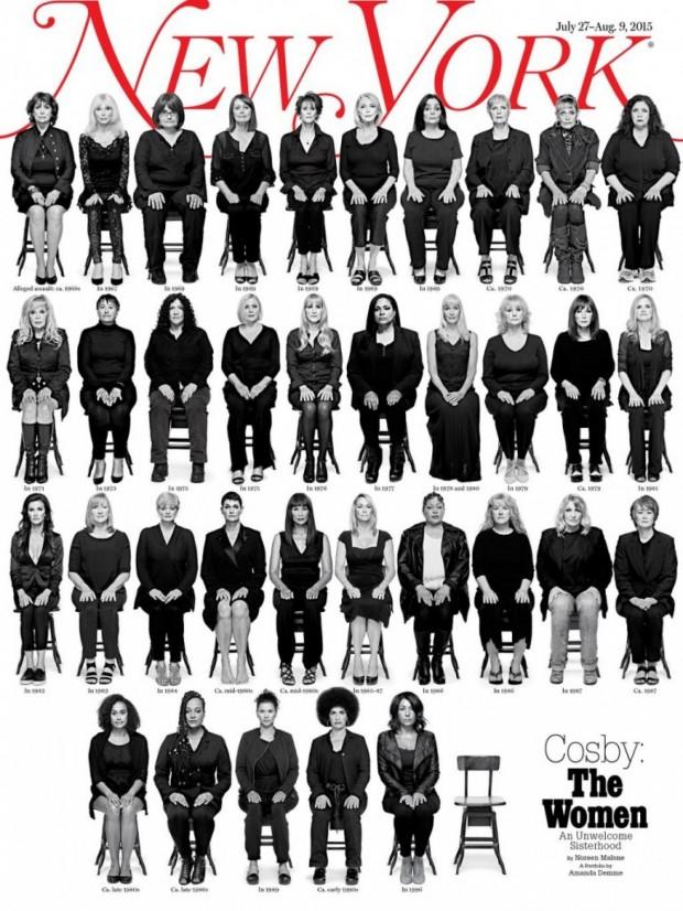 Capa da 'New York Magazine' publicada em 27 de julho de 2015 (Crédito: Divulgação/New York Magazine)
