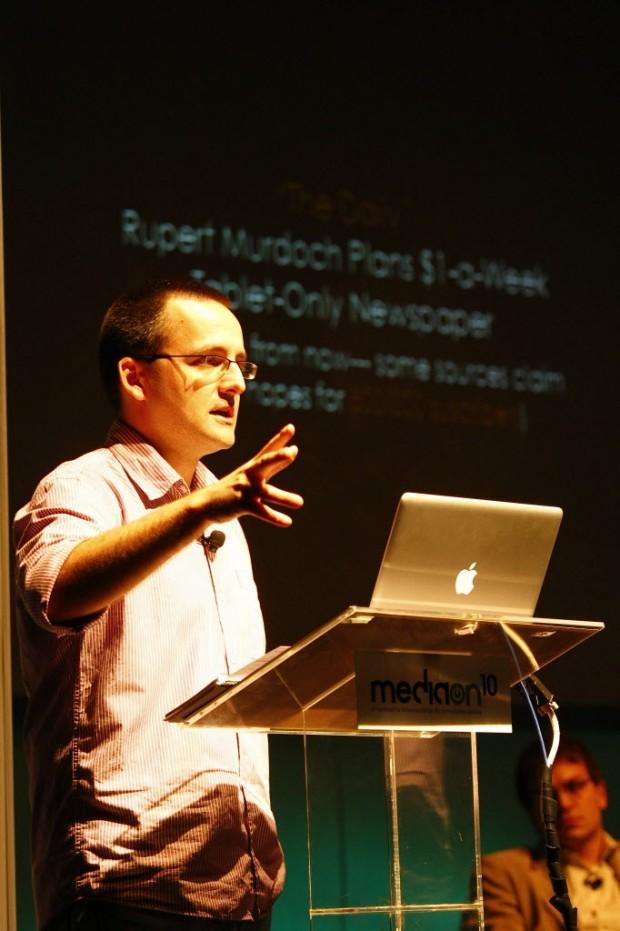 Alberto Cairo durante seminário em São Paulo (Foto:  Moacyr Lopes Junior/Folhapress )