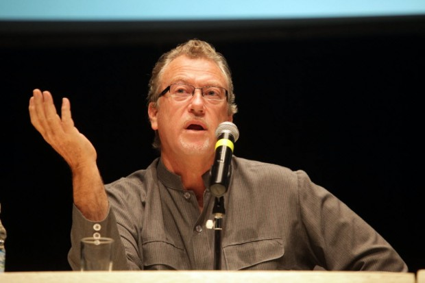 O jornalista americano Jon Lee Anderson, um dos jurados (Pierre Duarte/Folhapress)