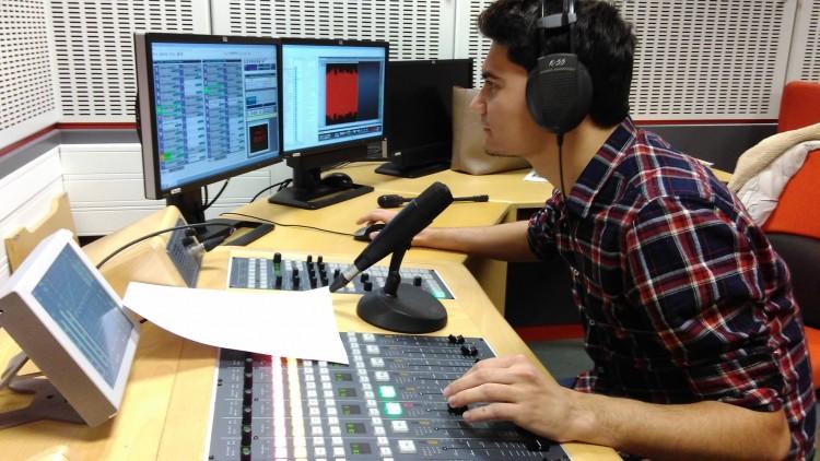 Aluno do mestrado em rádio da Radio Nacional de España (Foto: Reprodução/Facebook)