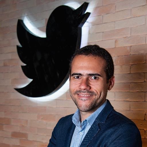 Diretor de Notícias e Política do Twitter, Jonas Oliveira