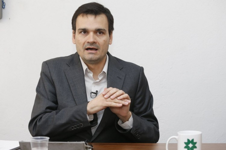 O secretário de Redação da Folha Vinicius Mota