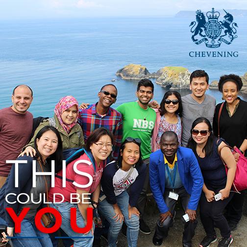 Participantes do Programa Chevening, no Reino Unido (Imagem: Reprodução/Facebook)