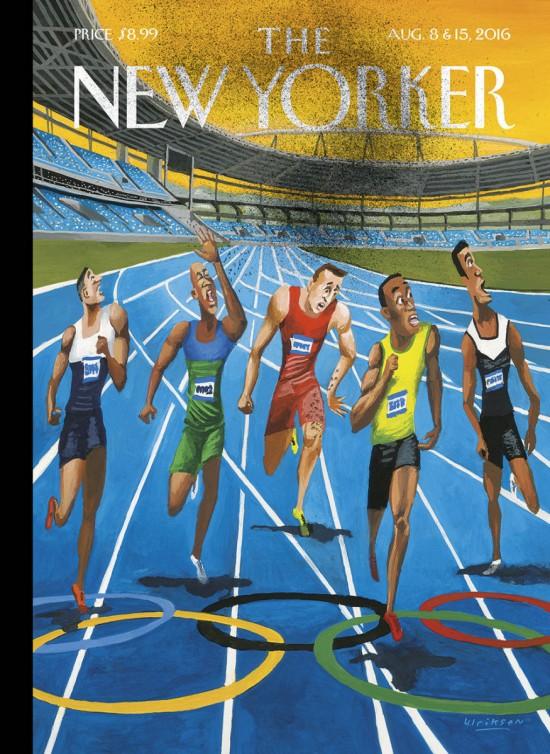 Capa de revista ironiza Olimpíada do Rio de Janeiro (Imagem: Mark Ulriksen/New Yorker)